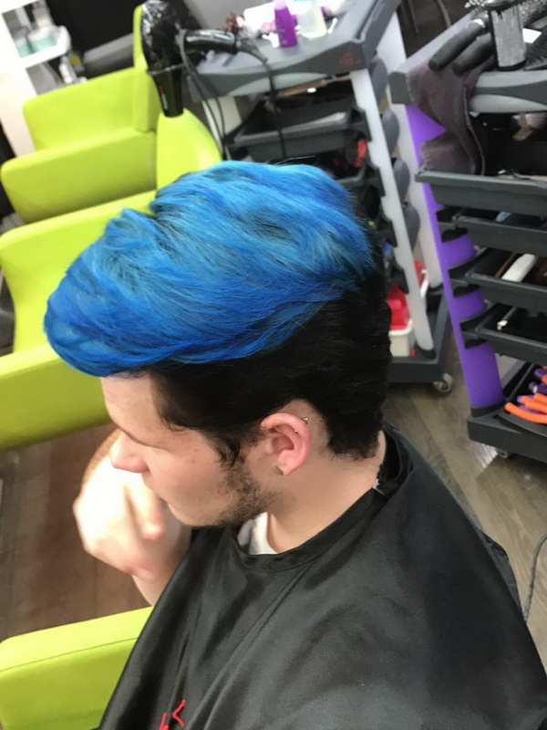 Blu Man Color